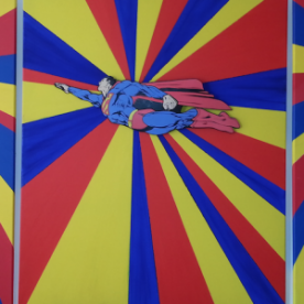 Superman triptyque